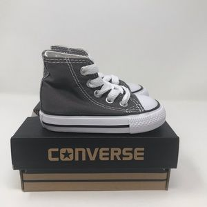 Converse All Star Hi Gray Infant/Toddler Unisex 3